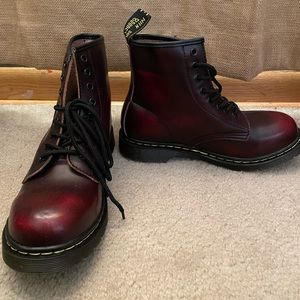 Dr. Martens DUPE Leather Lace Up Boots